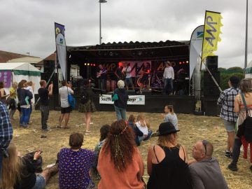 AMP stage Victorious 2016