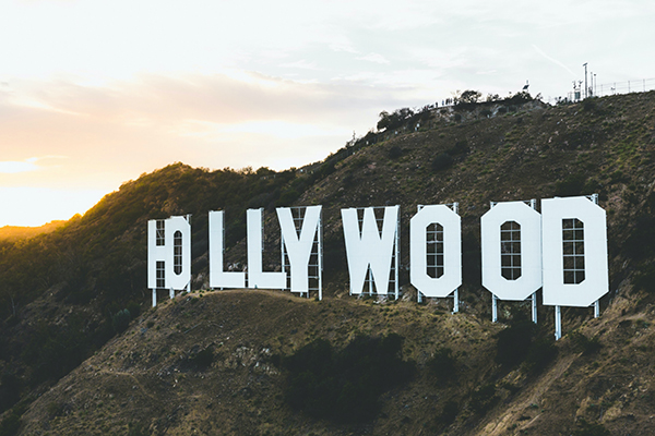 the hollywood sign in LA