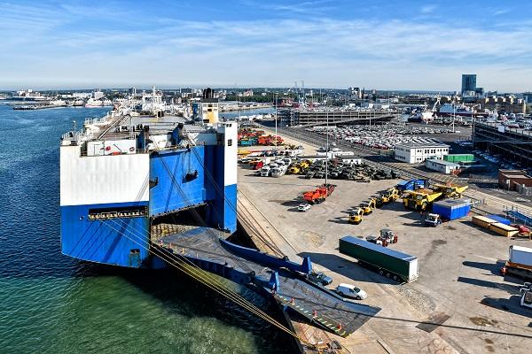 a logistics port
