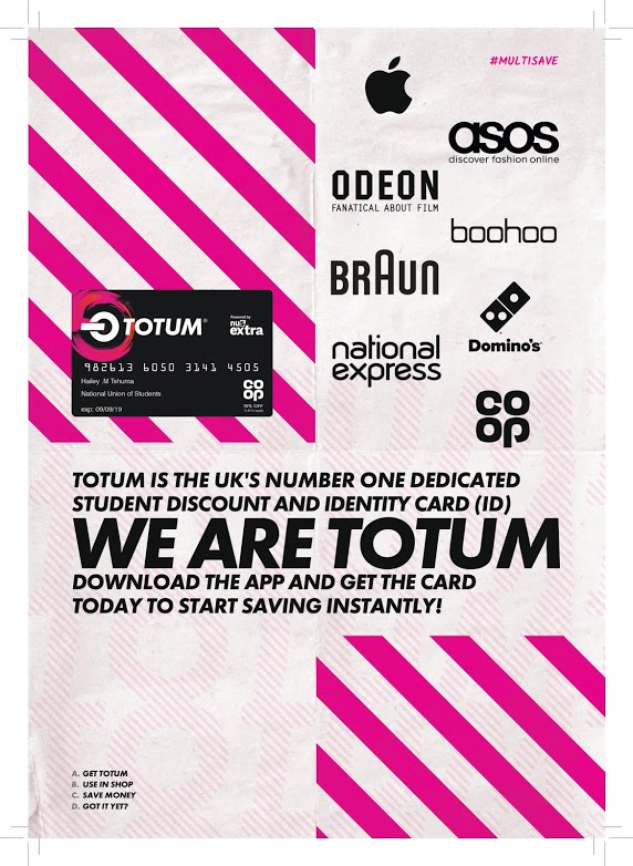TOTUM Card advert