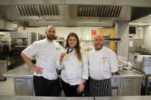 Left to right: Anthony Millon, Bella Skipp & Gary Poole-Gleed