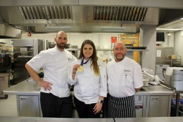 Left to right: Anthony Millon, Bella Skipp & Gary Poole-Gleed