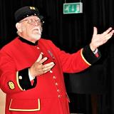 Peter Turner, Chelsea Pensioner