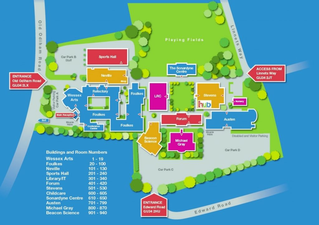 Alton campus map