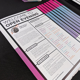 Open Evening Welcome Guide front page
